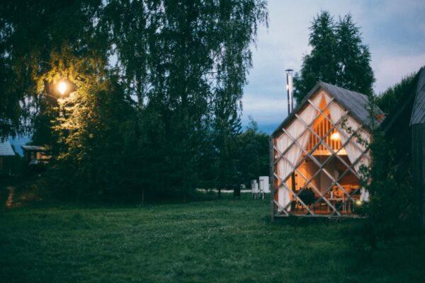Design Gartenhaus – Schlichte Gartenhütte war einmal