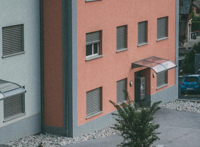 Vordach für den freundlichen Eingang